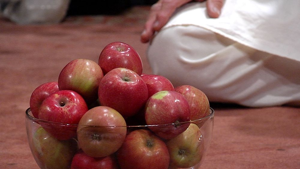 apples are used for vibrant meditation