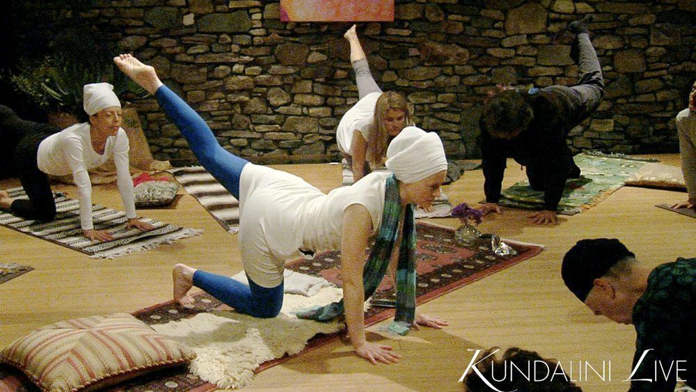 left leg extended yoga class video free
