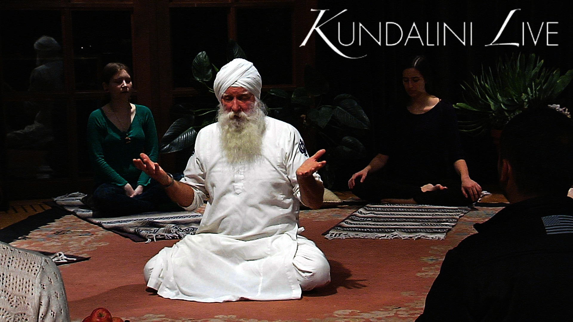 guru rattana ravishankar teaches flow restorative balance practice and offers sadhana in meditation class